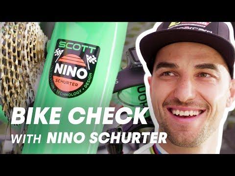 Check out Nino Schurter's retro Scott MTB. | UCI MTB 2018 Bike Checks
