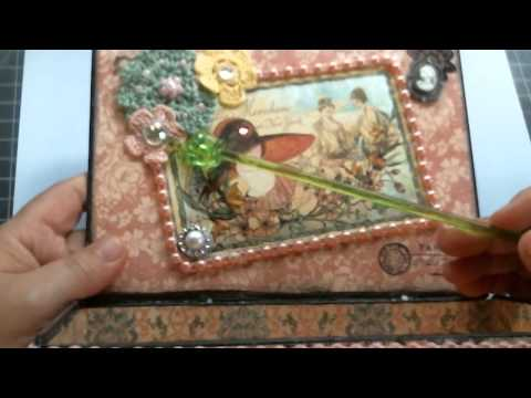 SCRAPBOOK PROJECT SHARE - ALTERED CIGAR BOX