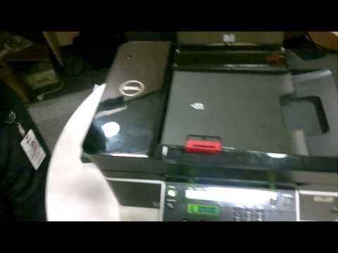 Dell Printer V515 complete Drill-down in HD