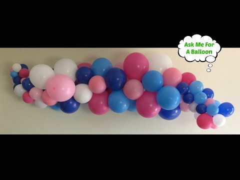 Organic Balloon Garland For Wall