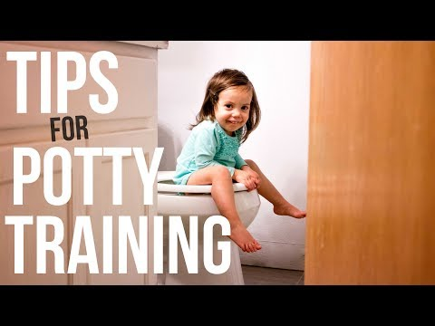 How To Potty Train - Tips from A Mom Of 4 ♡ NaturallyBrittany