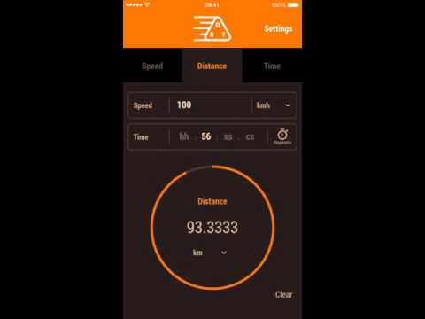 How to calculate speed distance and time the easy way - Speed Distance Time Calculator - iOS app