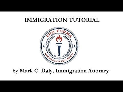 K-1 FIANCÉE VISA VIDEO TUTORIAL #9: Passport and I-94 Card by Mark C. Daly