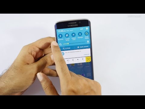 Samsung Galaxy S6 Restore the Missing Mobile Data Quick Toggle