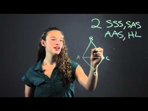 How to Do Triangle Geometry Proofs : Math Made Easy