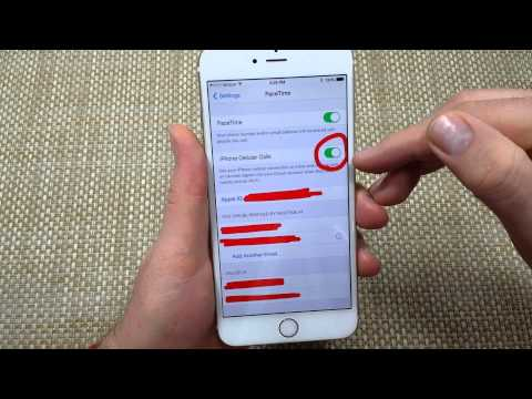FIX 2 iphones ringing at the same time or two ring when one is called & iPads iOS8 devices