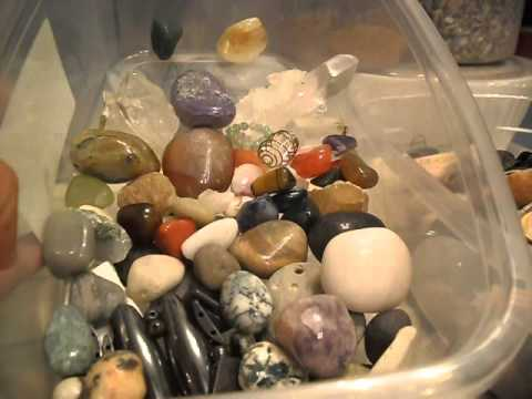 How to Cleanse Crystals, Healing Stones and Negative Energy Extraction Items