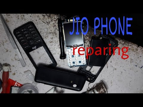 Jio phone repering in service centre lcd replacement by all salution