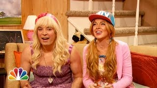 """Jimmy shows a clip from the Teen Nick show """"Ew.""""  Subscribe NOW to The Tonight Show Starring Jimmy Fallon: http://bit.ly/1nwT1aN  Watch The Tonight Show Starring Jimmy Fallon Weeknights 11:35/10:35c  Get more Jimmy Fallon:  Follow Jimmy: http://Twitter.com/JimmyFallon Like Jimmy: https://Facebook.com/JimmyFallon  Get more The Tonight Show Starring Jimmy Fallon:  Follow The Tonight Show: http://Twitter.com/FallonTonight Like The Tonight Show: https://Facebook.com/FallonTonight The Tonight Show Tumblr: http://fallontonight.tumblr.com/  Get more NBC:  NBC YouTube: http://bit.ly/1dM1qBH Like NBC: http://Facebook.com/NBC Follow NBC: http://Twitter.com/NBC NBC Tumblr: http://nbctv.tumblr.com/ NBC Google+: https://plus.google.com/+NBC/posts  The Tonight Show Starring Jimmy Fallon features hilarious highlights from the show including: comedy sketches, music parodies, celebrity interviews, ridiculous games, and, of course, Jimmy"""