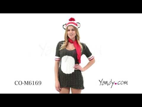 Sock Monkey Costume CO M6169 1