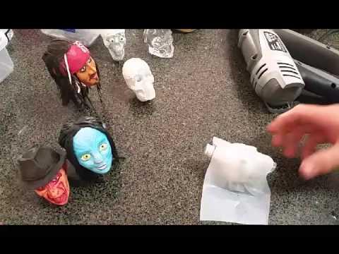 How to make miniature skulls