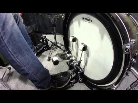 NAMM 2016 - Duallist's TRIPLE Bass Drum Pedal | GEAR GODS