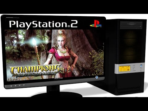 PCSX2 1.5.0 PS2 Emulator - Champions: Return to Arms (2005). Ingame. OpenGL. Test #1