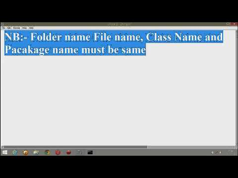 How to Create Package and Import Package In Java Simple Program