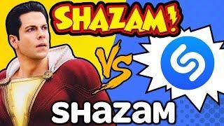 GUESS THAT SONG Challenge: SHAZAM! vs. Shazam (Ft. Zachary Levi)