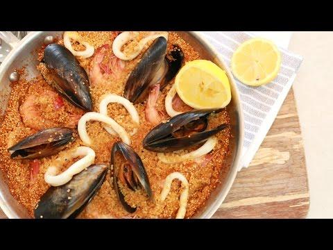 Super Easy & Healthy Seafood Quinoa Paella :: Chef's Choice