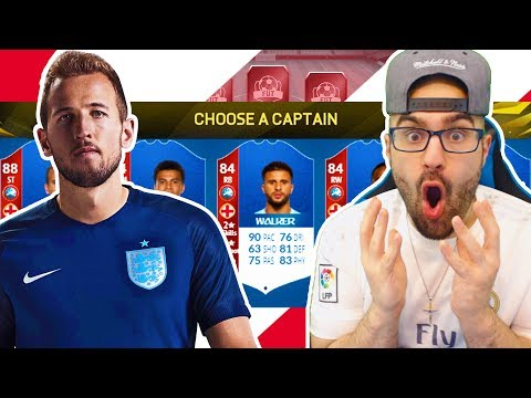 *NEW SERIES*  ENGLAND ONLY! WORLD CUP DRAFT TO GLORY #FIFA18 Ultimate Team