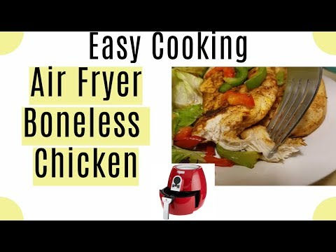Easy Cooking: Air Fryer Boneless Chicken Without Breading