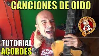 Como sacar CANCIONES de OIDO en GUITARRA | Tutorial ACORDES
