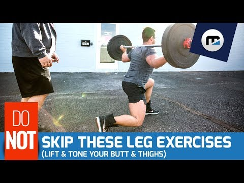 🚫  Never Skip These Exercises 🚫 Best Leg Day Routine (Targets Quads, Hamstrings & Glutes!)