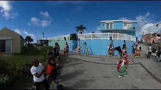 Bermuda Tradition - Gombeys on New Year's Day 2018 - 360 Video