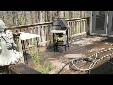 How To: Deck Pressure Washing