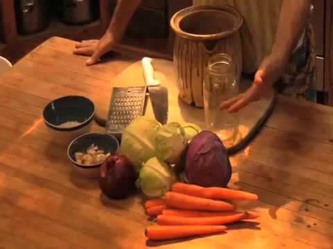 Fermenting Vegetables with Sandor Katz
