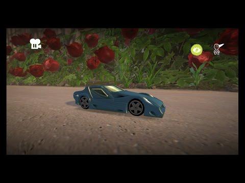 Little Big Planet 3 Car Review   Gillet Vertigo   LBP3 PS4