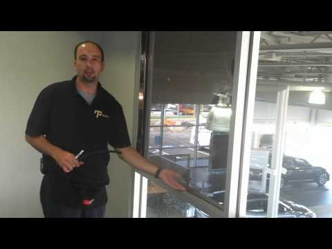 How to install Privacy Glass Tint, one way mirror tint, office tint, How to tint  216-906-6084