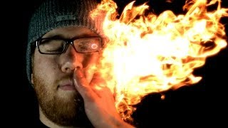 Download Struck by Fire: Firebending @ 2500 FPS (Feat. Grant Thompson & HouseholdHacker) Video