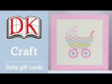 How to Make a Handmade Baby Shower Card