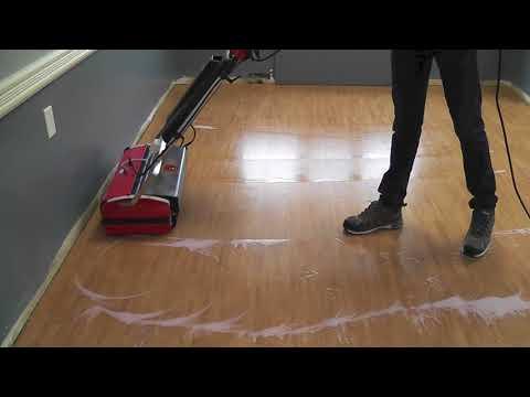 Umbrella Surface Technologies - Vinyl Plank Flooring - Clean & Seal