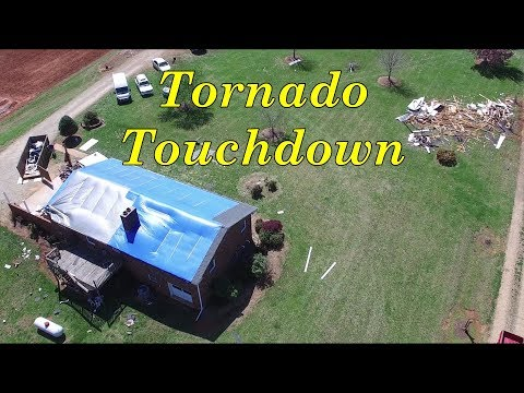 Tornado Touches Down at McLeansville & Turner-Smith Rds - Browns Summit, NC