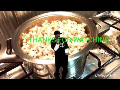 How to pop corn with minimal unpopped kernels