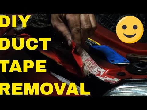 Remove Duct Tape From Car Paint