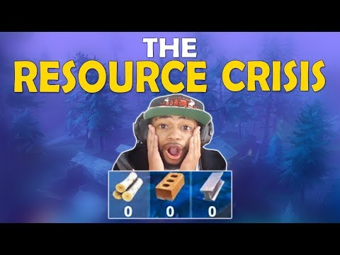 THE RESOURCE CRISIS | INTENSE BUILDING BATTLES | WHAT FORTNITE NEEDS - (Fortnite Battle Royale)