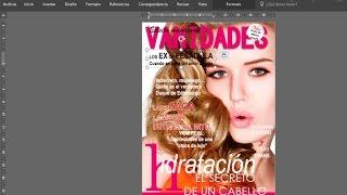 Cómo hacer una portada de revista en Word 2016