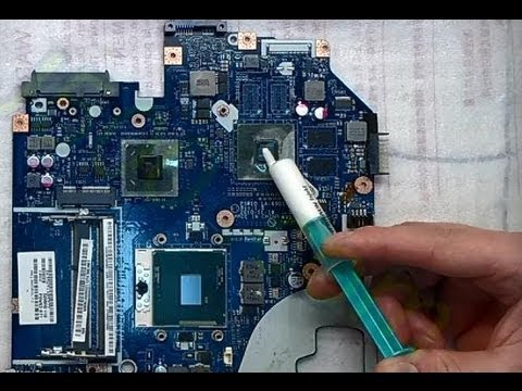 Change Thermal Paste Notebook Replace Cleaning fan on Laptop