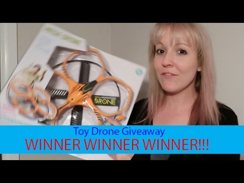 Toy Drone Winner Announced