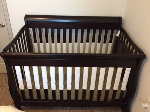 How To Make Your Own Vertical Crib Bumper