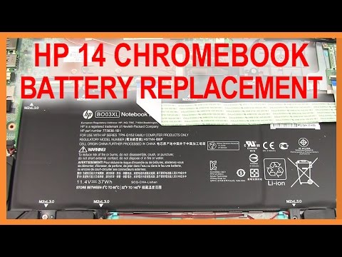 HP 14 Chromebook (HP 14-x010wm) Battery Replacement | DirectFix