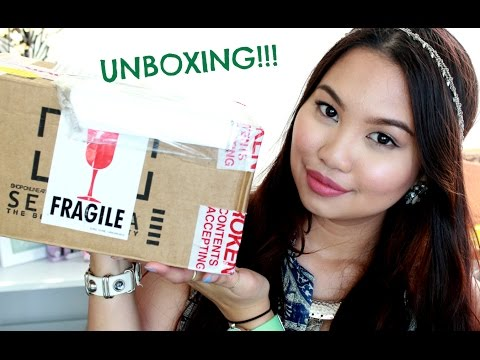 Unboxing - How I ship my makeup from USA to Australia