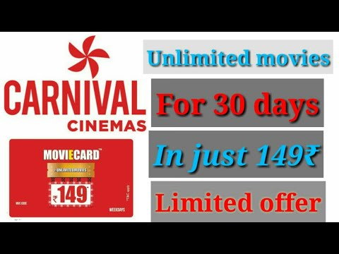 carnival cinemas |  Watch UNLIMITED MOVIES IN JUST 149₹ for 30 days