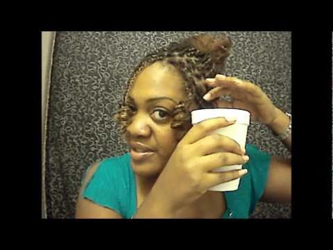 3 different ways to curl kinky twists !!!