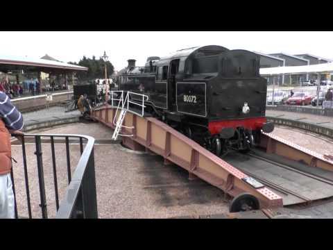 West Somerset Railway Spring Steam Gala 2012 - 1st Weekend