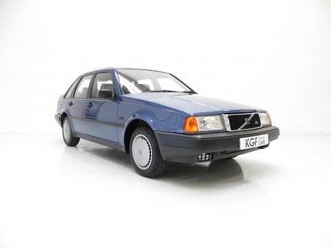 An Exceptional Volvo 440 1.6Li with One Owner and 29,812 Miles from New - £2,595