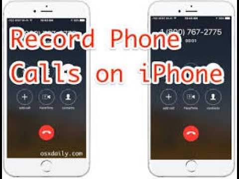 how to records a call on iphone or ipad for free