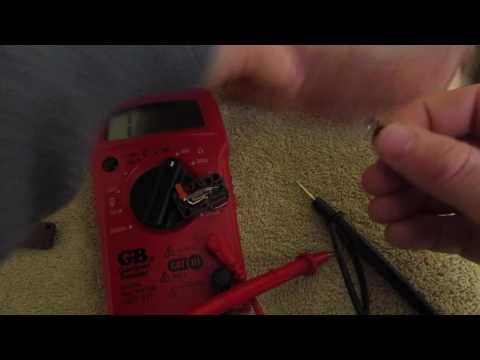 How to Fix a bad Microwave Oven Door Switch repair defective broken Micro Switch
