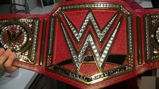 WWE Universal Championship Replica Title Belt Unboxing!