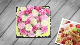 مافن التفاح- قوارب الفلفل بالدجاج -كوكيز الشيكولاتة الفاخر | زعفران وفانيلا حلقة كاملة